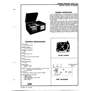 Gamble-Skogmo, Inc. 15RA37-43-9230A