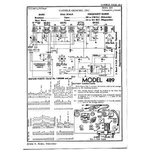 Gamble-Skogmo, Inc. 489