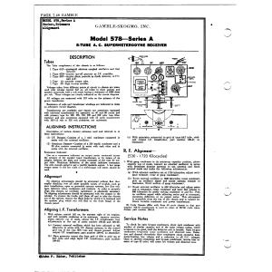 Gamble-Skogmo, Inc. 578-A