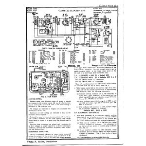 Gamble-Skogmo, Inc. 602B