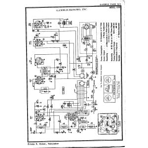 Gamble-Skogmo, Inc. 6C9