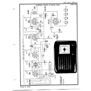 General Telev. & Radio Corp. 4B5