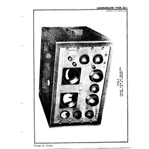 Hammarlund Mfg. Co. SP-600-JX