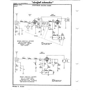 Hoffman Radio Corp. B1000