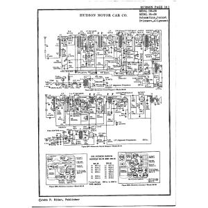 Hudson Motor Car Co. SA38