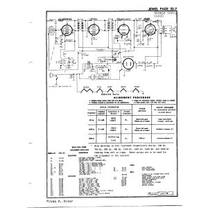 Jewel Electrical Instrument Co. 5020U