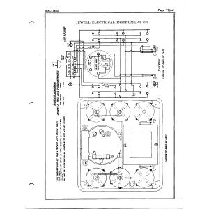 Jewel Electrical Instrument Co. Pat. 209 Tubechecker