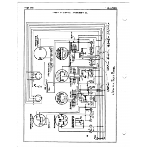 Jewel Electrical Instrument Co. Test Panel