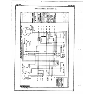 Jewel Electrical Instrument Co. WD-199