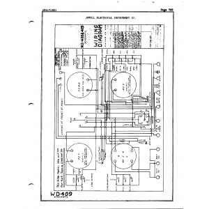 Jewel Electrical Instrument Co. WD-409