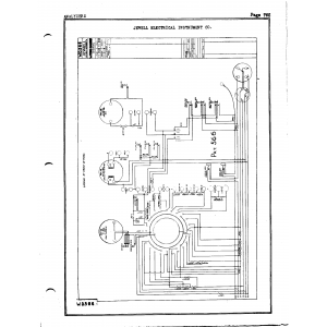 Jewel Electrical Instrument Co. WD 566