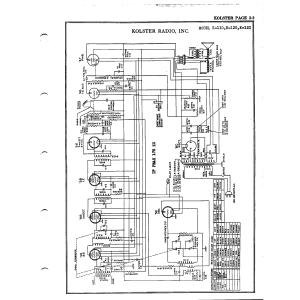 Kolster Radio Corp. K-110
