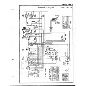 Kolster Radio Corp. K-113