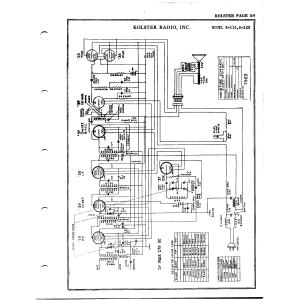Kolster Radio Corp. K-123
