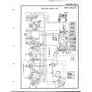 Kolster Radio Corp. K-130