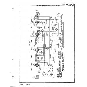Leander Electronics Corp. 707