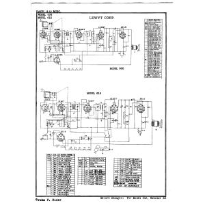 Lewyt Corp. 605