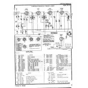 Lincoln Radio Corp. 5A-110