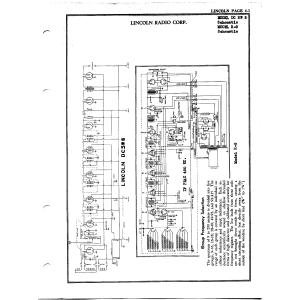 Lincoln Radio Corp. R-9