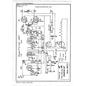 Marconiphone, Inc. DE1937