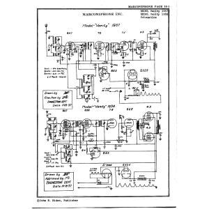 Marconiphone, Inc. Vanity 1938