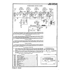 Purotone Radio Corp. 4506