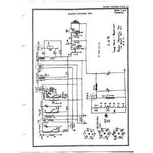Radio Chassis, Inc. L-6-D