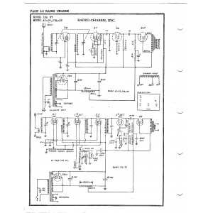 Radio Chassis, Inc. LSA 37