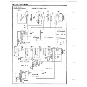 Radio Chassis, Inc. SMA-25