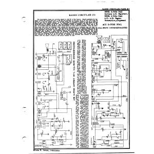 Radio Circular Co. 5-Tube Dual