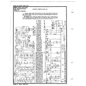 Radio Circular Co. 817