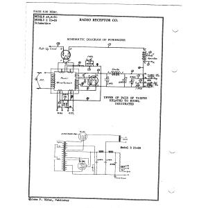 Radio Receptor Co. R-20