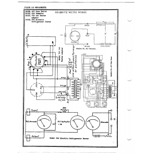Readrite Meter Works 900 Electric Refrigerator Tester