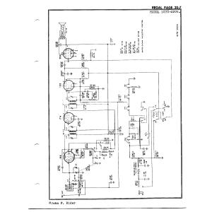 Regal Electronics Corp. 1878-220V