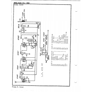 Rod Radio Mfg. Co. 6R608