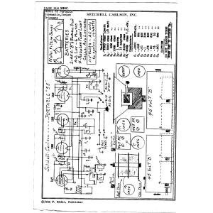 Setchell Carlson, Inc. 55 Portable
