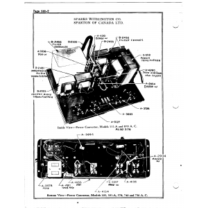 Sparks-Withington Co. 103 Power Convertor, A.C.