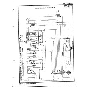 Splitdorf Radio Corp. PAD-4