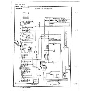 Steinite Radio Co. 8-Tube Pentode
