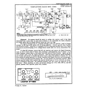 Temple Corporation E-518