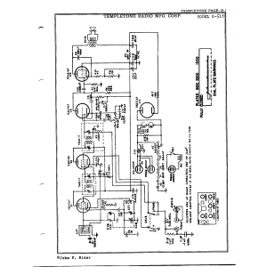 Temple Corporation G-516