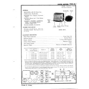 United Motors Service - Delco 100170