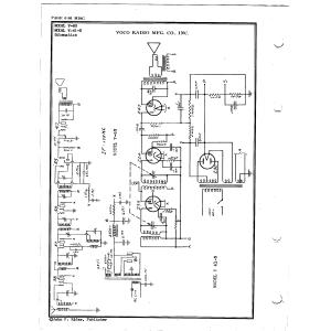 Voco Radio Mfg. Co., Inc. V-60