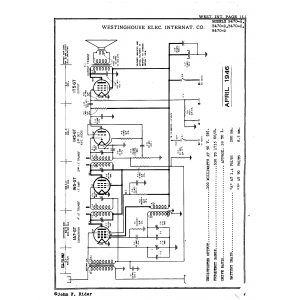 Westinghouse Elec. International Co. B470-B