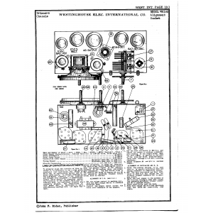 Westinghouse Elec. International Co. WR102