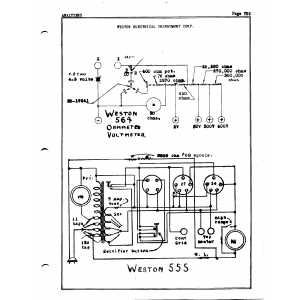 Weston Electrical Instrument Co. 564