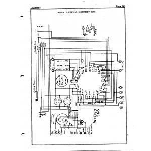 Weston Electrical Instrument Co. 566