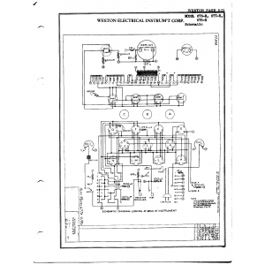 Weston Electrical Instrument Co. 676-R