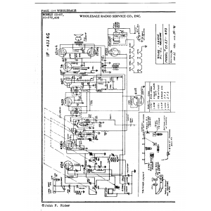Wholesale Radio Service Co., Inc. 493