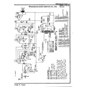 Wholesale Radio Service Co., Inc. C-16
